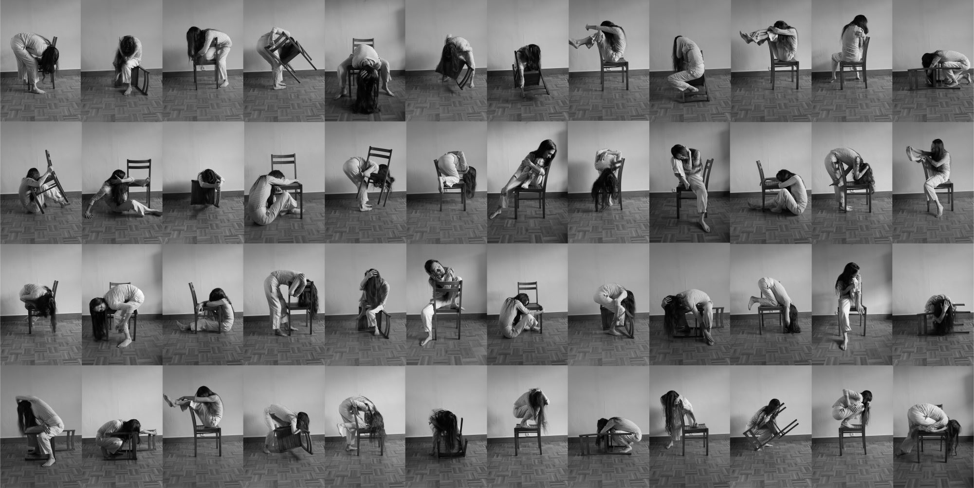 a thousand ways to embrace yourself - photography, sculpture, performance