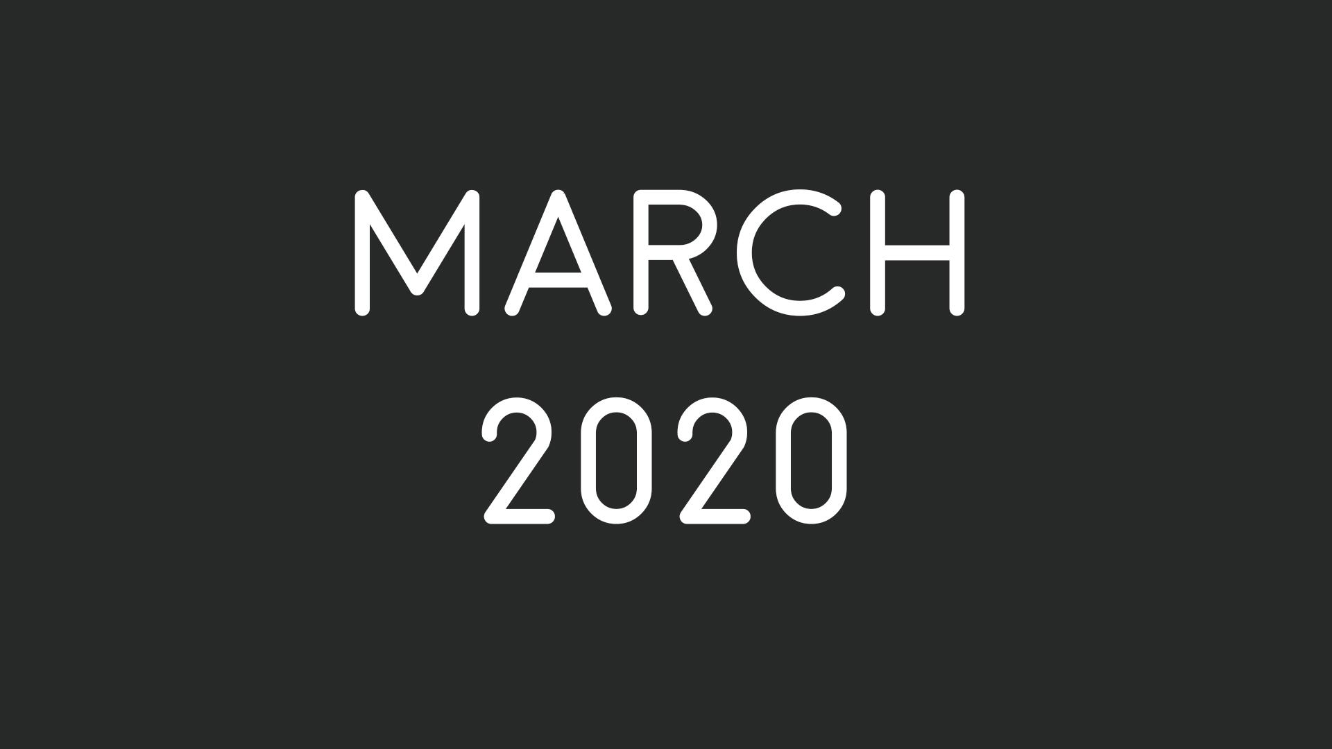 Davide Castiglione poetry - March 2020